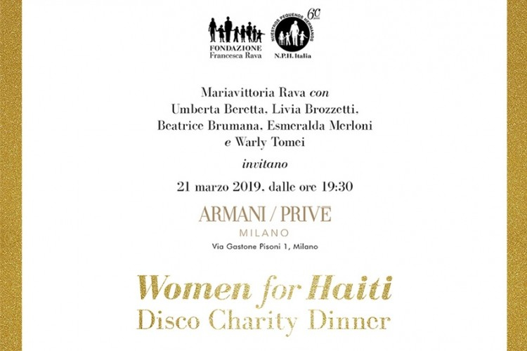 Women for Haiti - Disco Charity Dinner